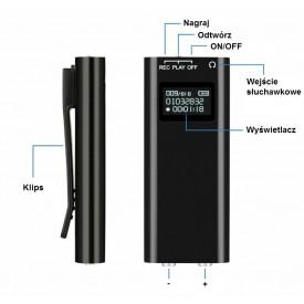 Dyktafon 8GB z...