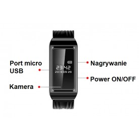 Zegarek z kamerą K6 256GB