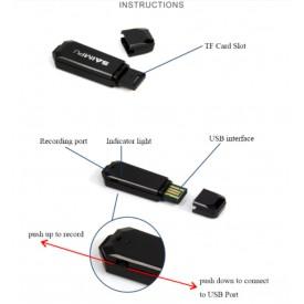 Dyktafon Pendrive Saimpu 32GB